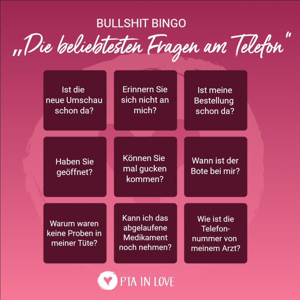 Bullshit-Bingo Telefon