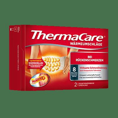 Thermacare Wärmeumschläge bei Rückenschmerzen