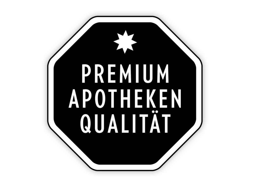 Grafik Premium Apothekenqualität