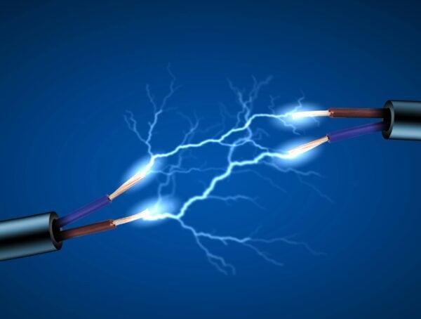Symbolbild elektrische Spannung Coronaviren